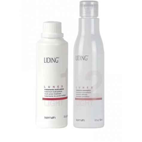 Kit Lunex Light Tratamiento Aclarante Kemon