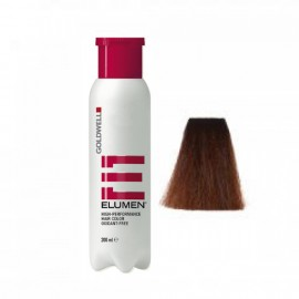Elumen Elumen BM@6 de Goldwell color RUBIO OSCURO MARRON,MATIZ AVELLANANA@8 200ml Coloración