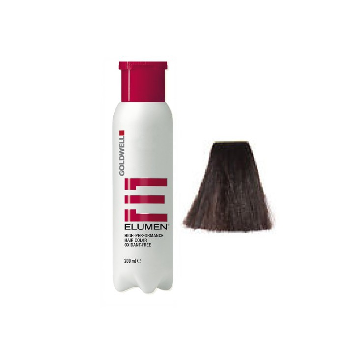 Elumen NB@4 de Goldwell coloración CASTAÑO MARRON CAOBA, MATIZ CHOCOLATE