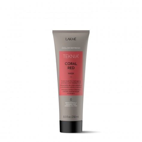 Color Refresh Mask - Coral Red